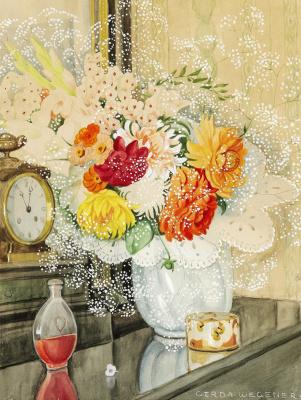 Gerda Wegener. Flowers