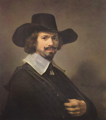 Karel Fabricius. Portrait of a man