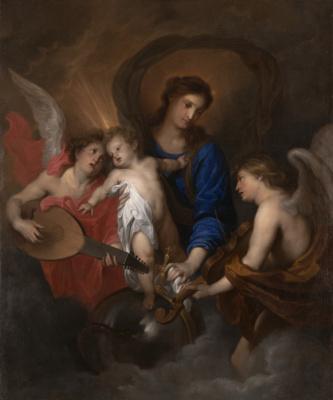 Антонис ван Дейк. Мадонна с младенцем и музицирующими ангелами