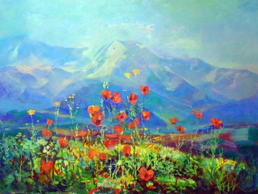 Камиль Нурыевич Велиахмедов. Весенний Копетдаг