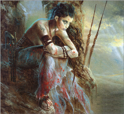 Luis Royo. Waiting