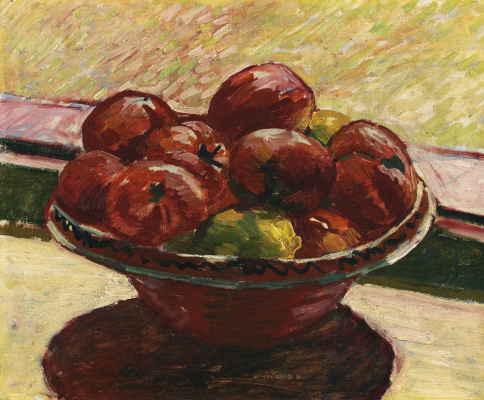 Giovanni Giacometti. A bowl of fruit
