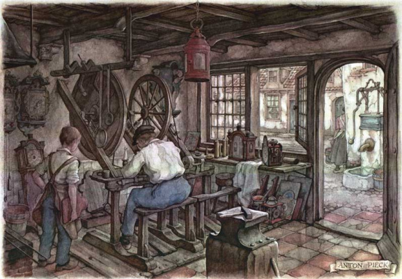 Anton Peak. Watchmaker