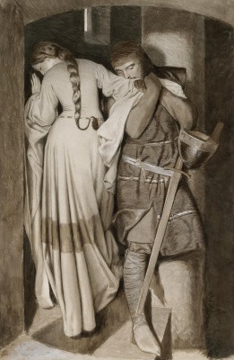 Frederick William Burton. Hellelil and Hildebrand