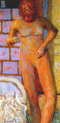 Pierre Bonnard. Nude wall