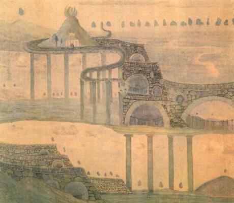Mikalojus Konstantinas Ciurlionis. Sonata the snake