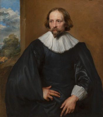 Anthony van Dyck. Portrait Of Quentin Simmons