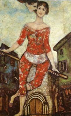 Marc Chagall. Acrobat