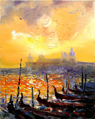 Vadim Anatolyevich Stolyarov. Evening Venice
