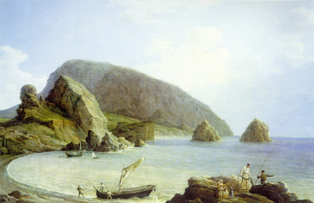 Nikanor Grigorievich Chernetsov. View of the Ayu Dag in the Crimea from the sea