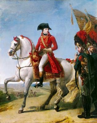 Антуан-Жан Гро. Наполеон после сражения при Маренго