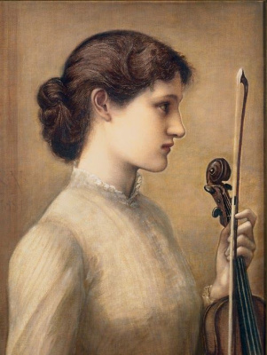 Edward Coley Burne-Jones. Sara Norton
