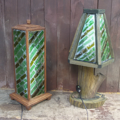 Igor Yurevich Drozhdin. The fusing lamp emerald