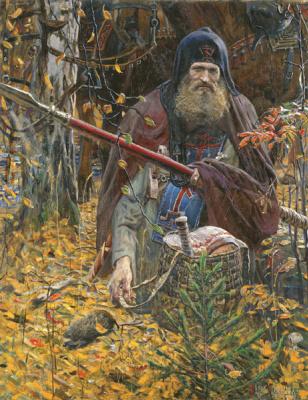 Pavel Viktorovich Ryzhenko. Prayer Peresvet