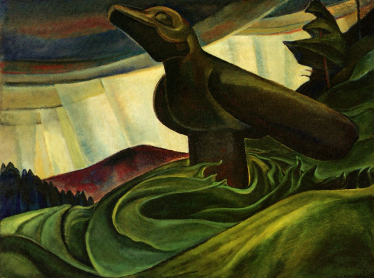 outstanding canadian emily carr Emily carr's painting church in yuquot village is shown in this undated handout photo ho, art gallery of ontario/the canadian press.