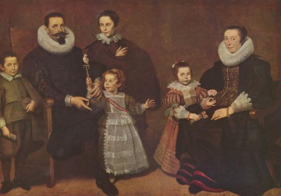 Cornelis de Vos. Family portrait