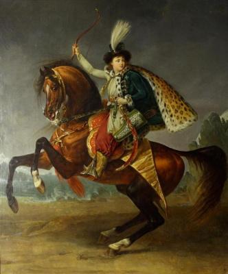 Антуан-Жан Гро. Конный портрет князя Б.Н. Юсупова