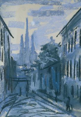 Svyatoslav Teofilovich Richter. Twilight in Oktyabrsky