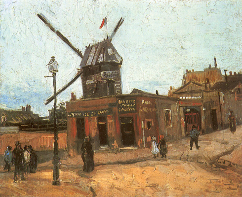 Vincent van Gogh. The windmill on Monmatre