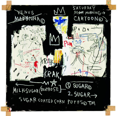Jean-Michel Basquiat. The team of specialists