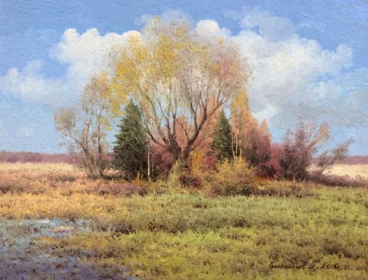 Vasily Ivanovich Gribennikov. Fine autumn day