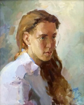 Валкрия Александровна Устюжанина. Portrait of Lera