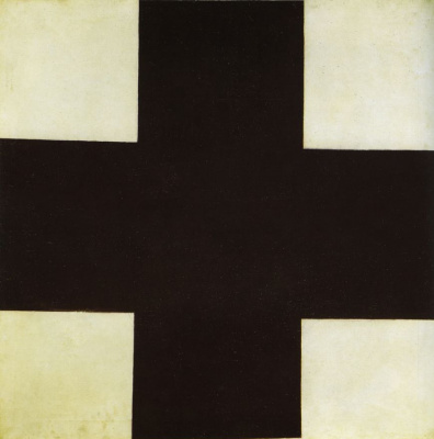 Kazimir Malevich. Black cross