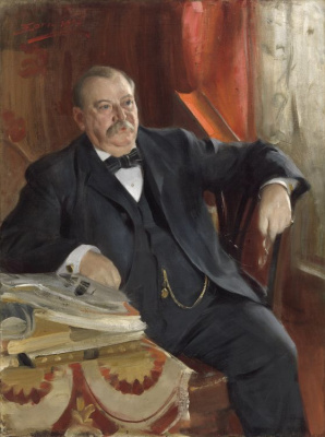 Anders Zorn. President Grover Cleveland
