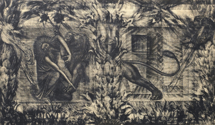 Ernst Fuchs. Plot 23