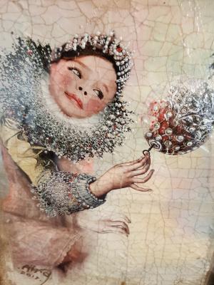 Sergey Айро. Girl and Sphere