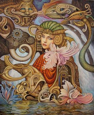 """Игорь Владимирович Волосников. """"Swapneshvari (Dream Goddess)"""