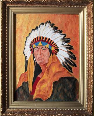 Виктор Петрович Бурмин. Huron Tribe Leader