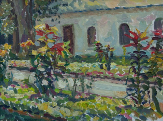 Victor Matorin. Paints Izmailovo