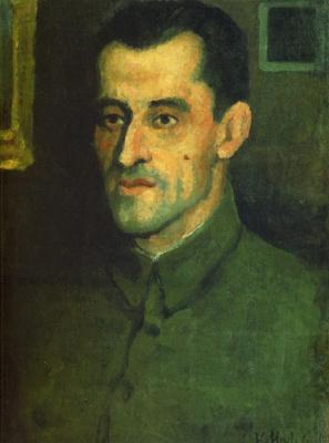 Казимир Северинович Малевич. Портрет В.А. Павлова