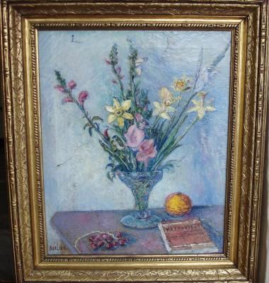 David Davidovich Burliuk. Flowers and poetry