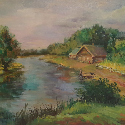 Gennady Vladimirovich Rudenko. House by the river