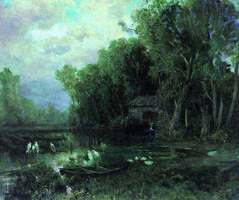 Fedor Alexandrovich Vasilyev Russia 1850 - 1873. Abandoned mill. 1871-1873