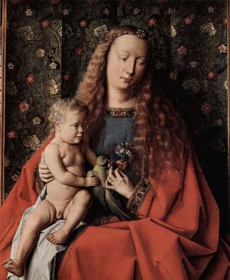 Ян ван Эйк. Мадонна с младенцем