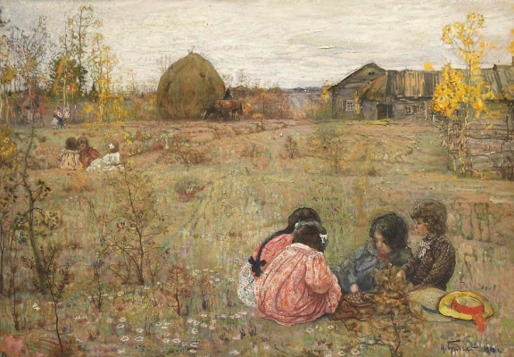 Isaac Brodsky. Late summer residents