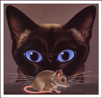 Кен Джоодри. Кошка с голубыми глазами