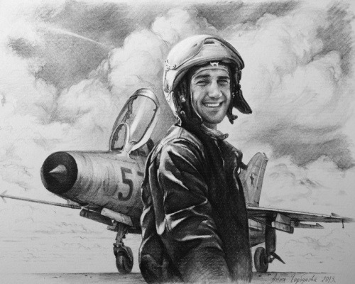 Анна Валериевна Горбунова. Портрет советского лётчика.