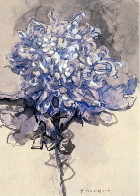 Piet Mondrian. Chrysanthemum