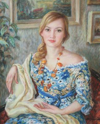Виктор Романович Семыкин. Портрет Гузелии