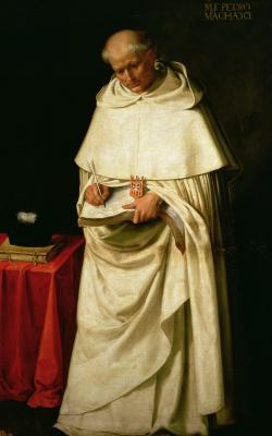 Francisco de Zurbaran. Brother Pedro Machado