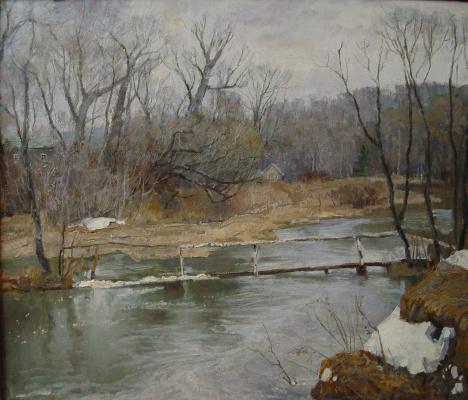 Борис Петрович Захаров. Вешняя вода.