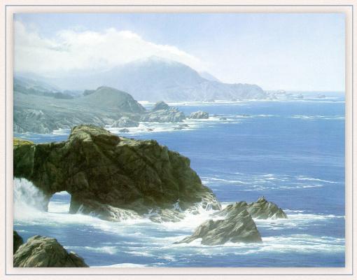 Марк Вебер. Море