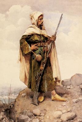 Густаво Симони. Арабский солдат