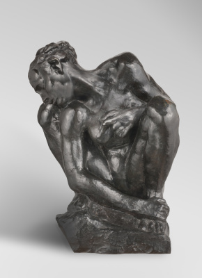 Auguste Rodin. Woman squatting II