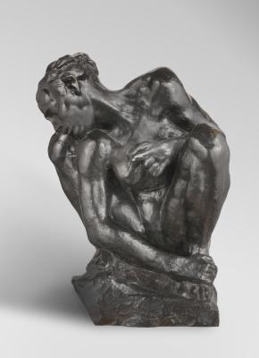 Auguste Rodin. Woman squatting II