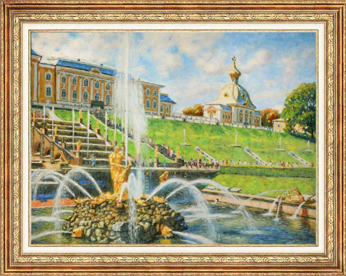Igor Razzhivin. In the Kingdom of fountains. Peterhof